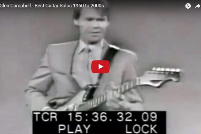 Who knew the legendary Glen Campbell got his musical start in Houston?