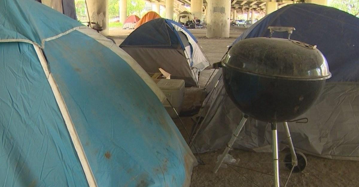The homeless of Houston are homeless again