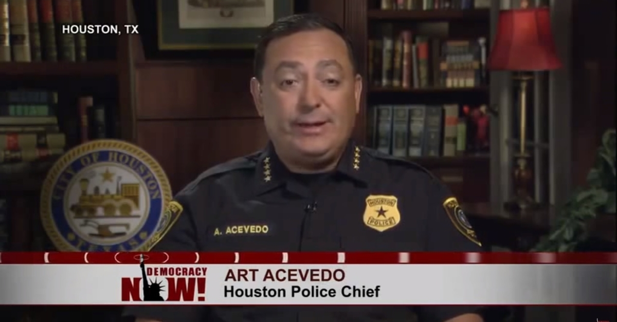 Houston's first Latino Police Chief Art Acevedo speaks out about how SB 4 is harming the Latino community and the city