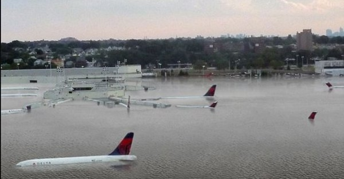 Another Harvey hoax — photos of submerged Houston tarmac are not real