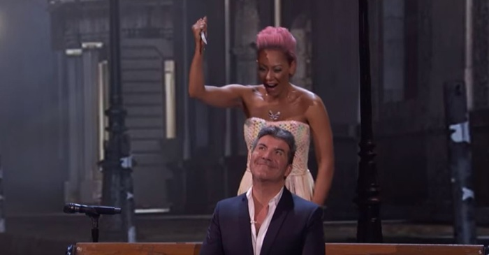 "Mel B got her ""revenge"" on Simon Cowell after his crude joke on ""AGT"""