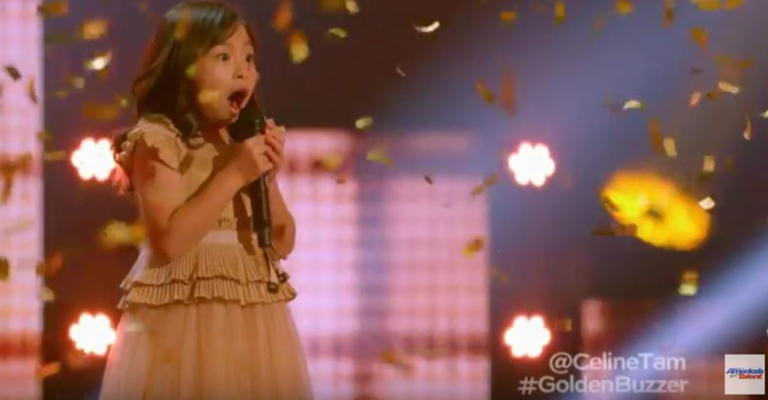 "This little ""AGT"" contestant is going straight to the live rounds after the judges heard her rendition of a Michael Bolton hit"