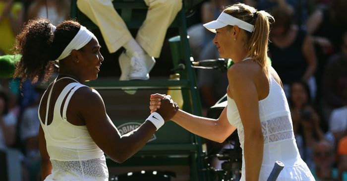 Serena Williams' rivalry with Maria Sharapova takes an interesting turn