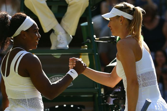 Serena Williams' rivalry with Maria Sharapova takes an interesting turn