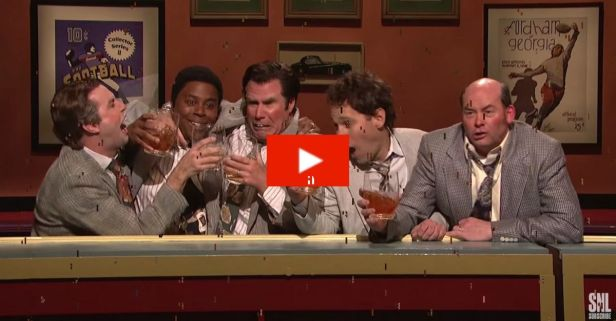 "Flashback: SNL's Bucktoothed, Boozed-Up Salesmen- the ""Brasky Buddies"""