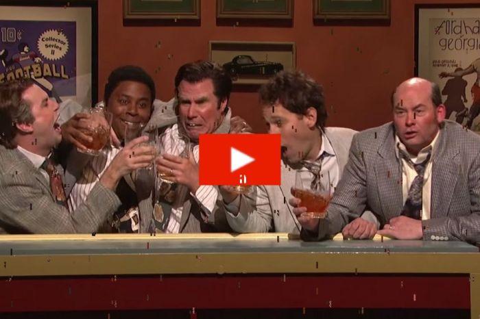 """Flashback: SNL's Bucktoothed, Boozed-Up Salesmen- the """"Brasky Buddies"""""""