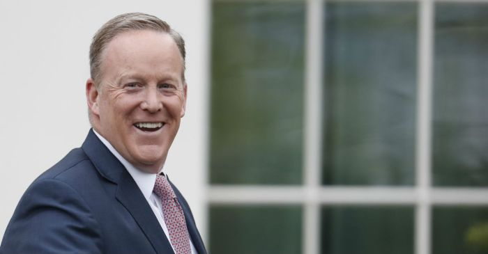 "Sean Spicer declares: ""I'm one of the most popular people in Ireland"""