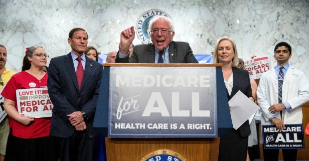 Bernie Sanders' Medicare-for-all bill masks the Democratic Party's true crisis
