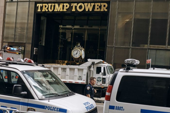 Three Democratic congressmen arrested outside Trump Tower, and one is used to handcuffs