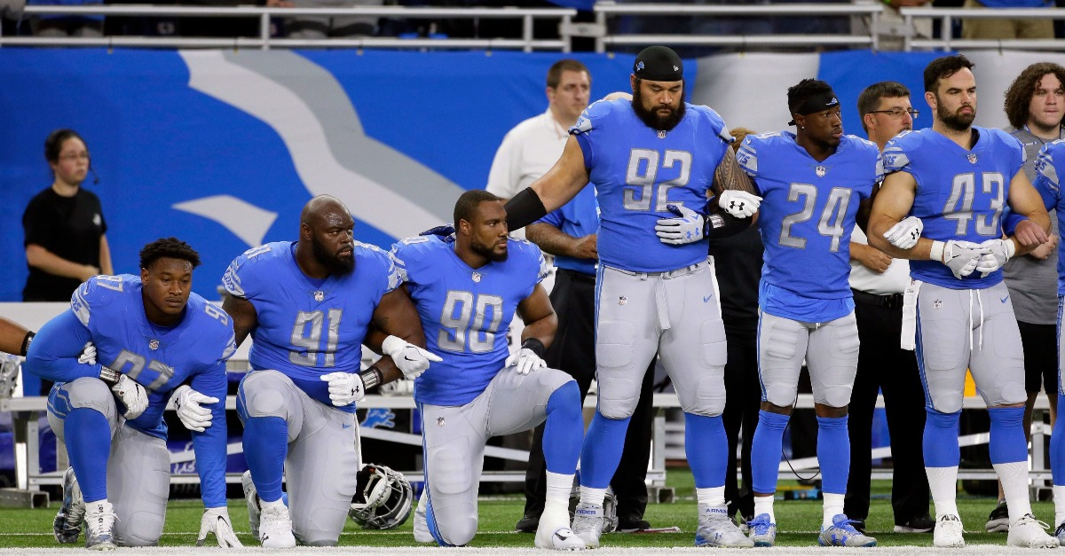 "Stop calling the protesting NFL players ""spoiled"" 