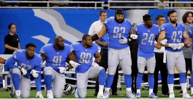 "Stop calling the protesting NFL players ""spoiled"""
