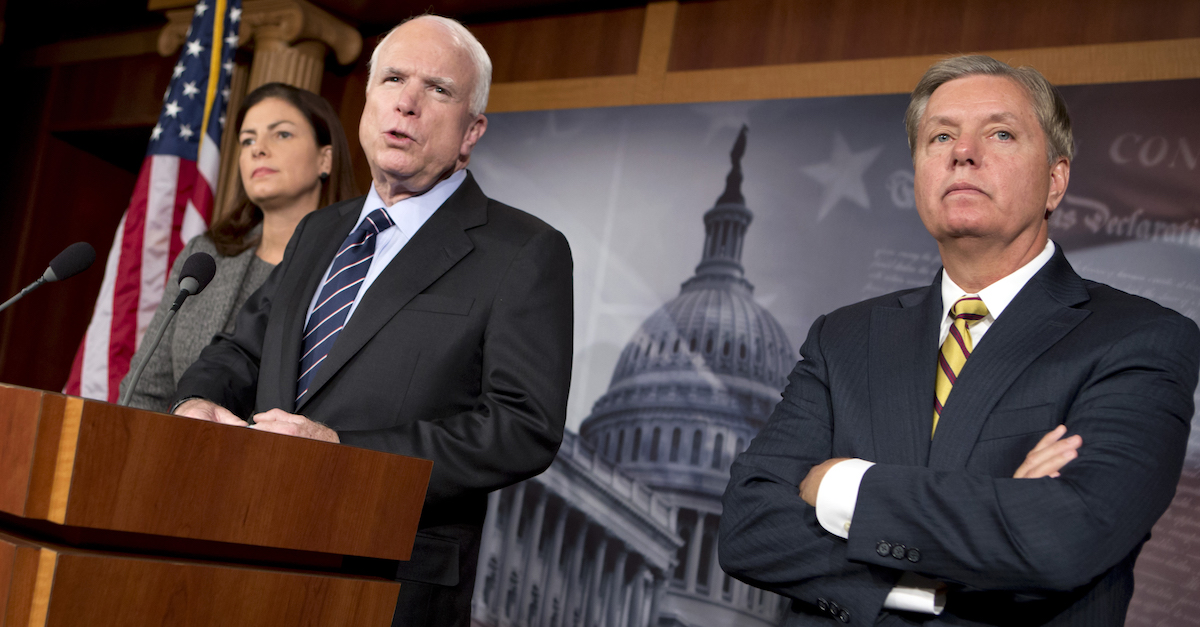 Sen. McCain just torpedoed the Obamacare replacement bill — again