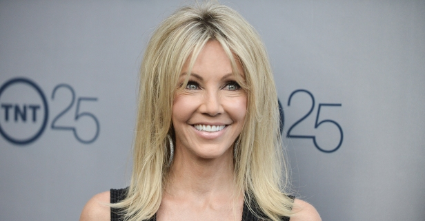 Actress Heather Locklear suffers injuries after driving her car into a ditch