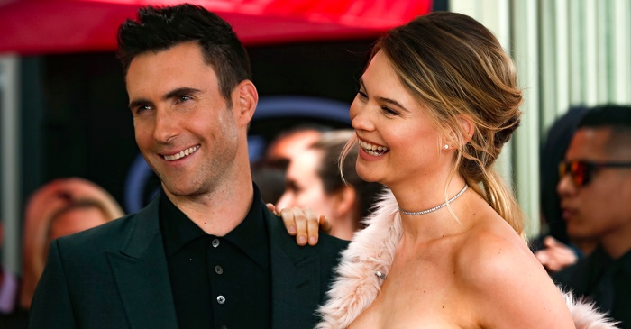 Adam Levine and Behati Prinsloo are expecting again! See the first pic of her bump