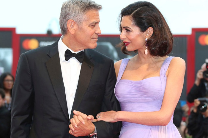 George and Amal Clooney stun at their first red carpet event since welcoming twins