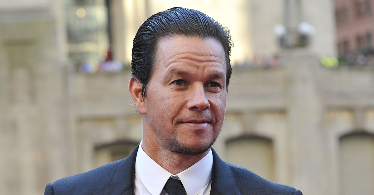 Mark Wahlberg at Cardinal Cupich this past weekend to promote church