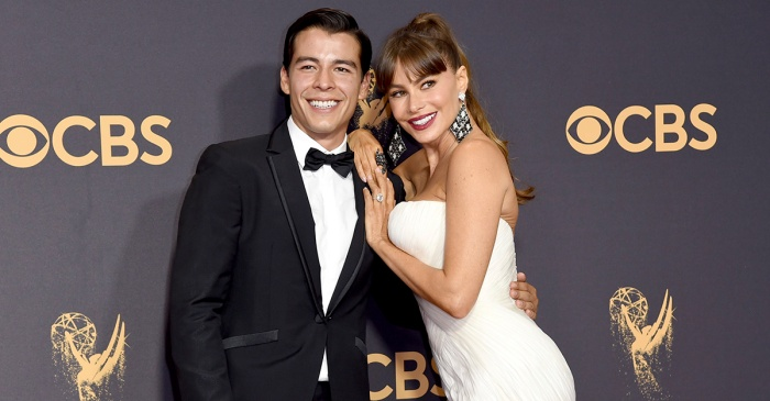 Sofia Vergara could pass for her son's sister in these stunning pics from the Emmys