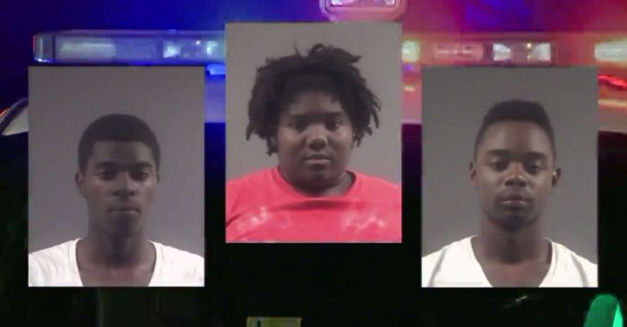 Three arrested after a naked man sprints through neighborhood in an online date gone wrong