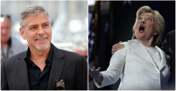 George Clooney makes a very un-Hollywood comment about Hillary Clinton