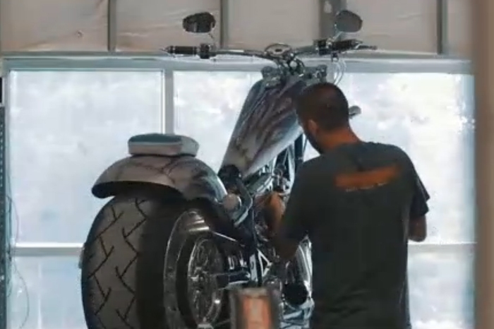 When passion becomes profession: A motorcycle enthusiast and the custom bikes he builds