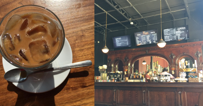 The Den Theater in Wicker Park just opened a coffee shop and it's beautiful!
