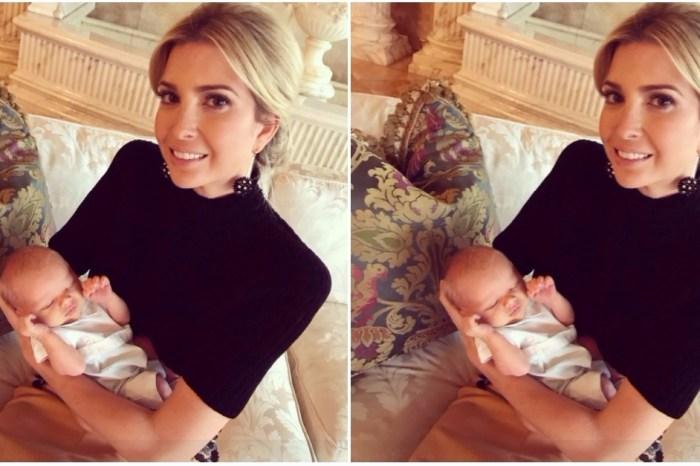 Ivanka Trump spends some quality time with new baby nephew Luke