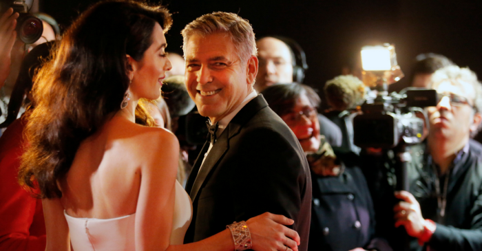 George Clooney explains how he and Amal picked out the perfect names for their twins