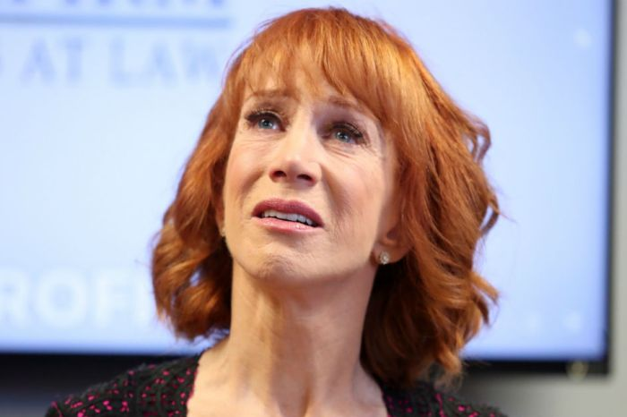 Kathy Griffin claims she is being blacklisted in Hollywood and can prove it