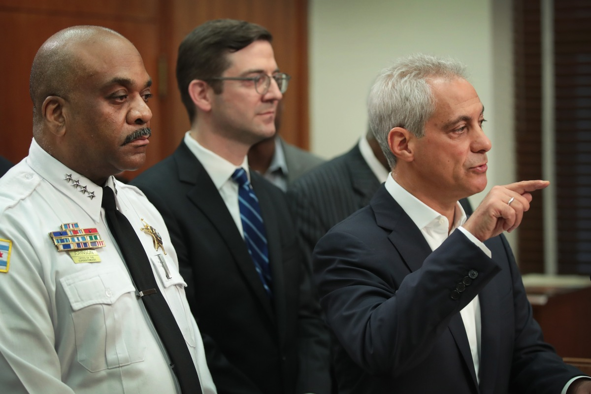 Chicago Police have good news on the gun violence in the city