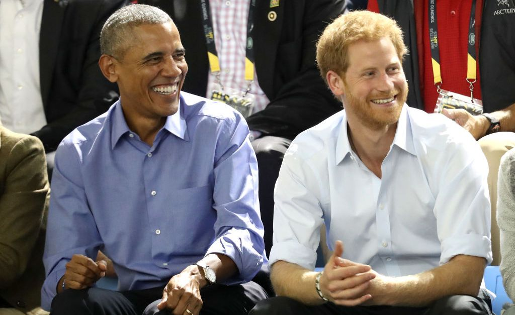 Obama and the Bidens make surprise appearance with Prince Harry at the Invictus Games