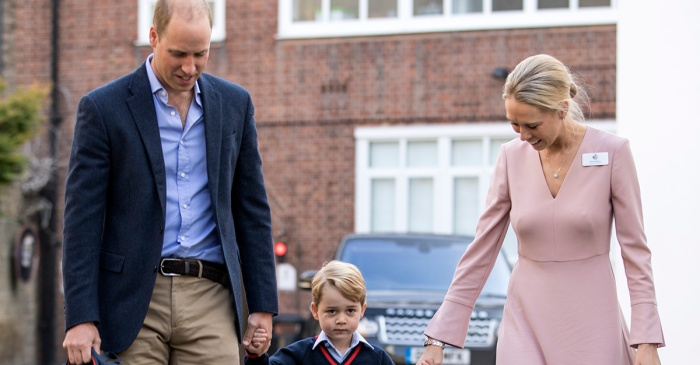 Prince William speaks out for the first time about George's first week of school