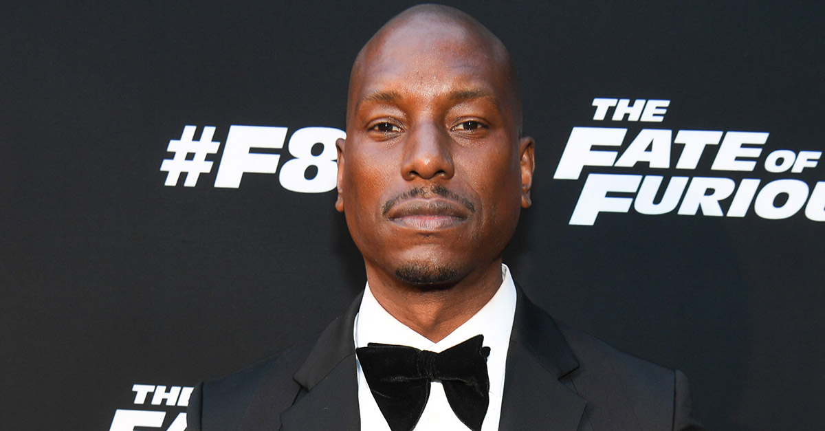 Tyrese Gibson may want to stop spending as his financial problems continue to grow