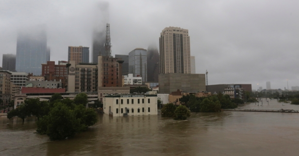 According to Judge Emmett, Houston's politicians are too focused on property tax relief, neglecting flood control