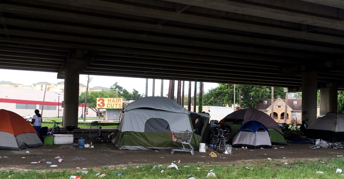 Charities conduct annual census of Houston, surrounding areas' homeless population