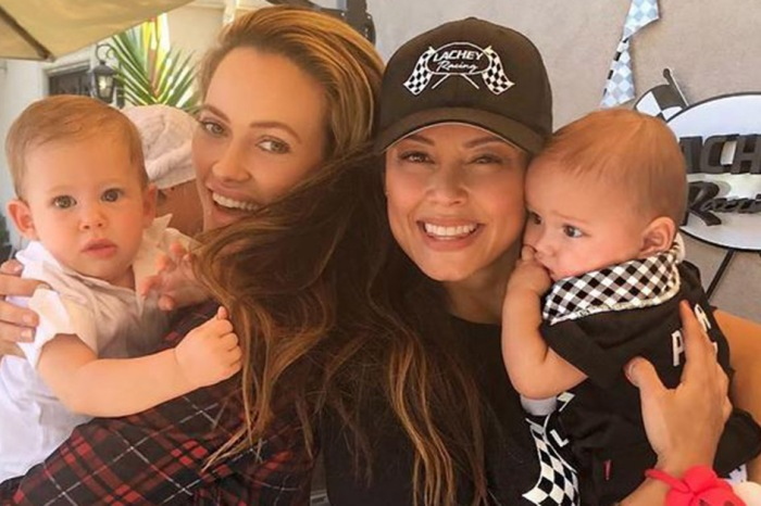 """""""Sister wives"""" Peta Murgatroyd and Vanessa Lachey hang out ahead of the """"DWTS"""" premiere"""