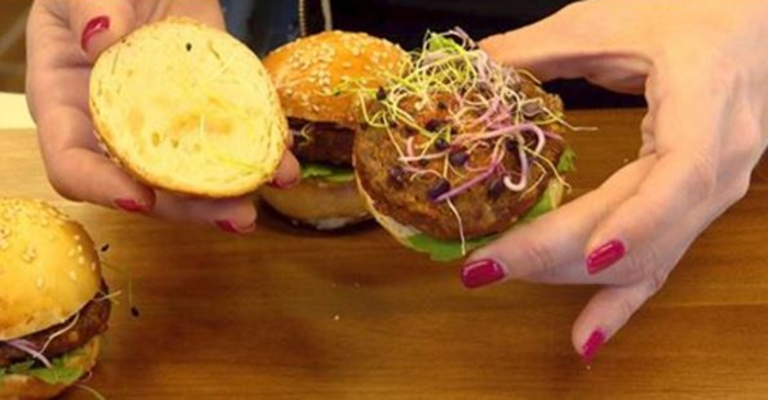 A supermarket chain in Switzerland is selling insect burgers made of mealworm larvae