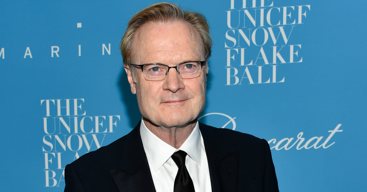 Watch MSNBC's Lawrence O'Donnell have a complete meltdown over an earpiece malfunction