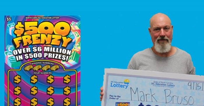 On his trip down memory lane, a USMC veteran bought a lotto ticket worth big bucks
