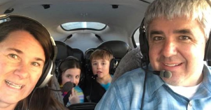 A family of four disappeared during their flight, and authorities confirmed the worst
