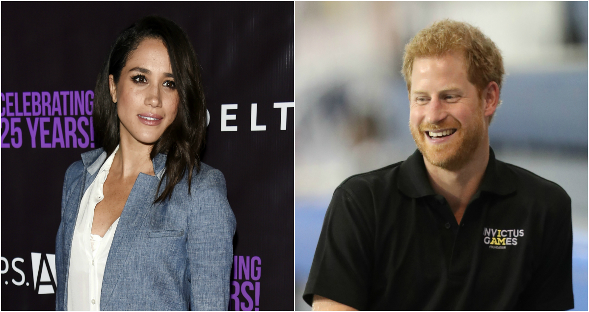 Meghan Markle shows up to cheer on her Prince Harry for a very good cause