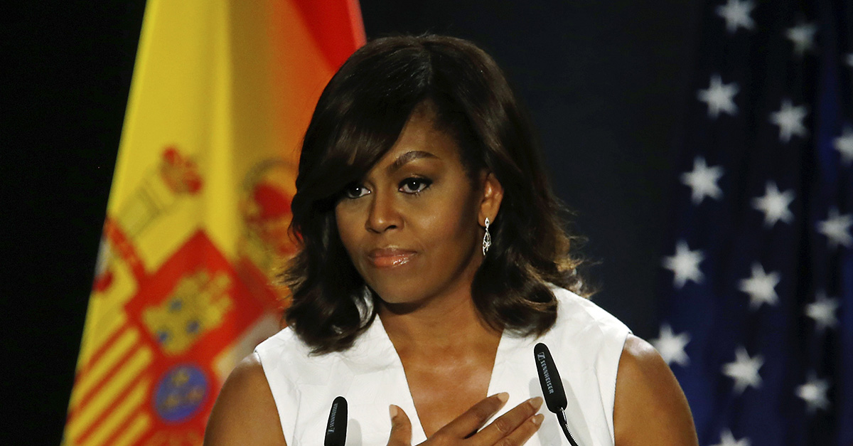 "Michelle Obama says any woman who voted for Trump went ""against their own voice"""