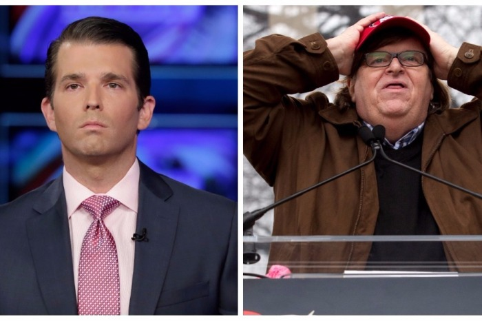 Don Jr. destroys Michael Moore for his Mar-a-Lago tweet as Hurricane Irma hit Florida