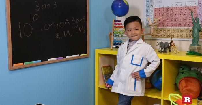 This 5-year-old genius can talk about numbers so big, they're just theory at this point