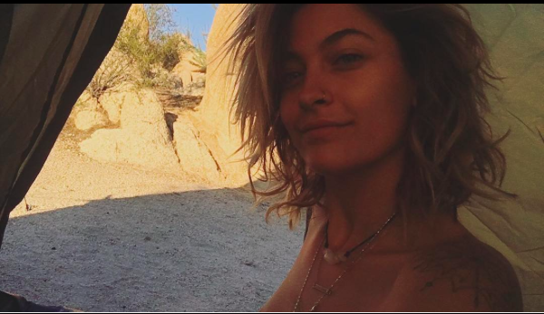 Unafraid to show some skin, Paris Jackson wishes she could do topless yoga every morning