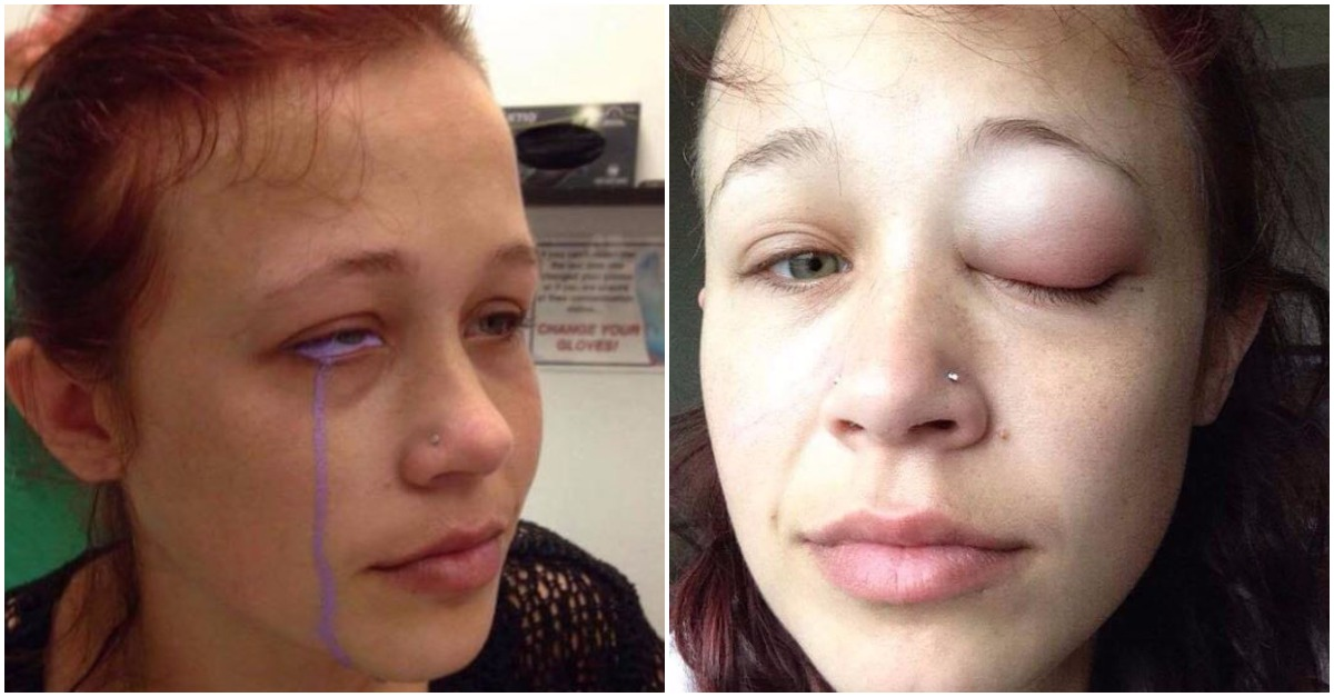 She's here to warn you that tattooing your eyeballs is a terrible idea