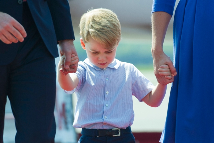 Prince George can make even the grumpiest faces look downright adorable