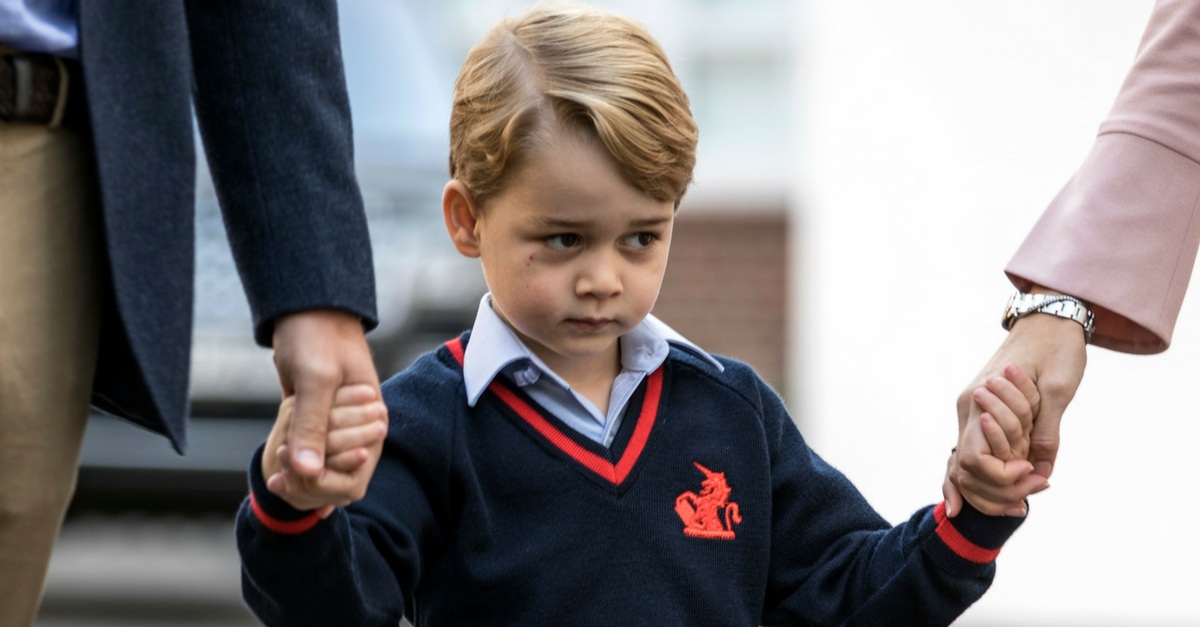 "Prince William says he and Prince George have ""surprisingly deep"" conversations about happiness"