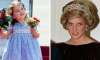 Princesses Charlotte and Diana