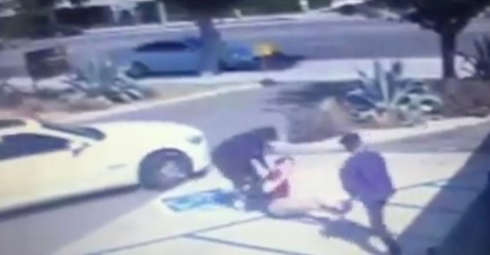 Watch the heroic way UPS workers shut down an armed robbery happening in broad daylight