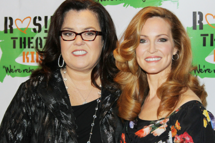Rosie O'Donnell fires back at social media users blaming her for her ex-wife's death